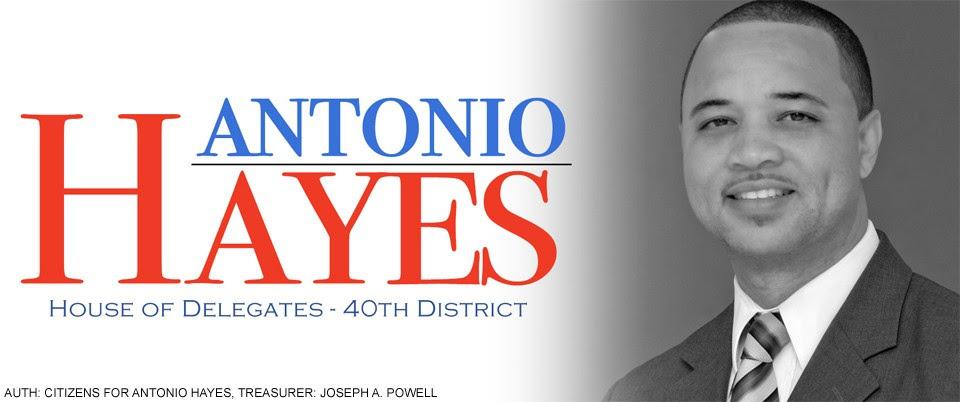 Delegate Antonio Hayes Endorses John Bullock